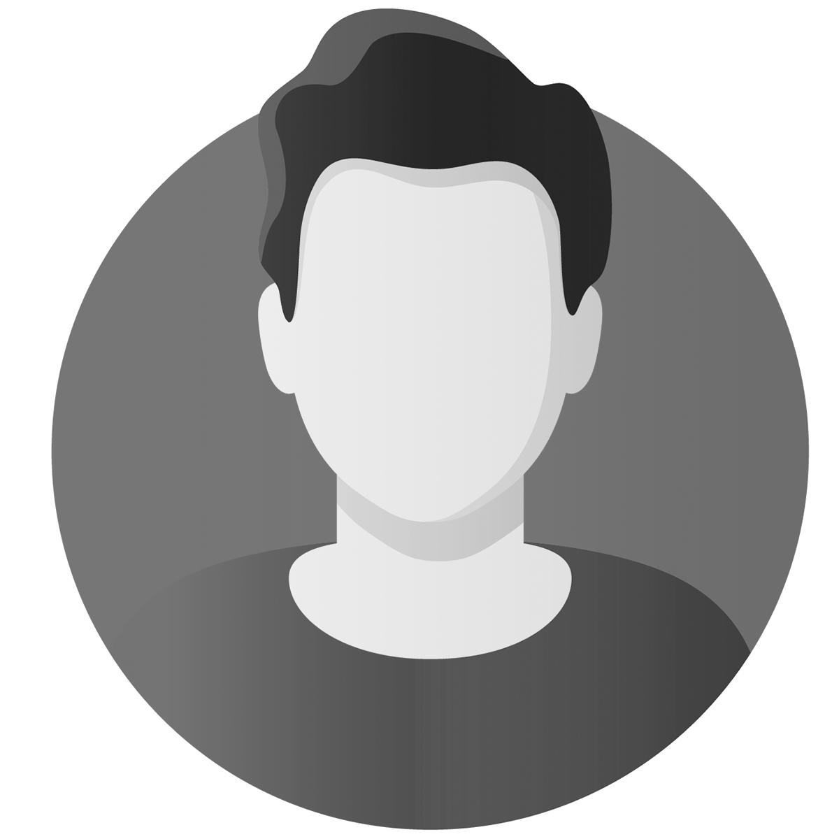 Placeholder billede af en mand